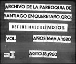 0231 bautismos parroquia santiago en queretaro 1666 1680